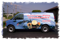 Restoration Piping Technologies Truck